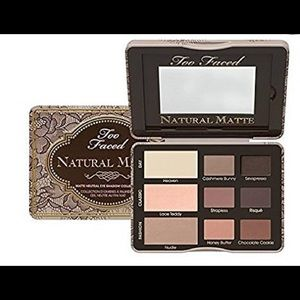 NEW Too Faced Natural Matte palate